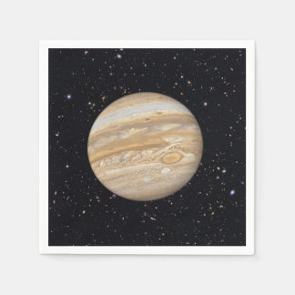 Planet Jupiter Starry Sky Napkins