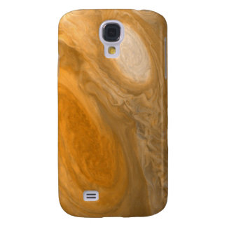 Planet Jupiter Swirling Storms and Big Red Spot Galaxy S4 Cases