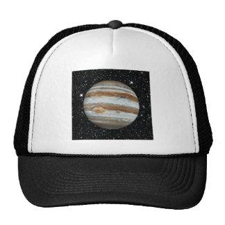 PLANET JUPITER v.2 star background (solar system) Trucker Hat