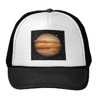 PLANET JUPITER v.3 star background (solar system) Trucker Hat