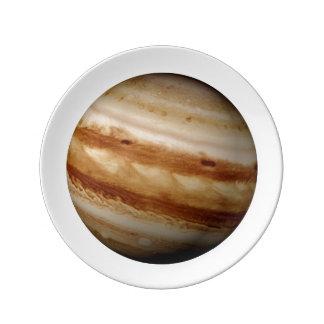 PLANET JUPITER v.4 (solar system) ~ Porcelain Plate