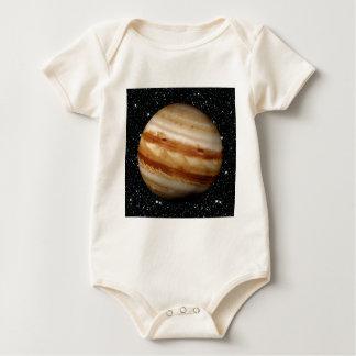 PLANET JUPITER v.4 star background (solar system) Baby Bodysuit