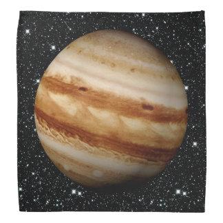 PLANET JUPITER v.4 star background (solar system) Bandana