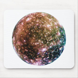 PLANET JUPITER'S MOON: CALLISTO MOUSE PAD
