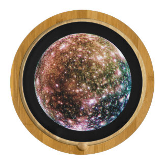 PLANET JUPITER'S MOON - CALLISTO (solar system) ~ Cheese Board