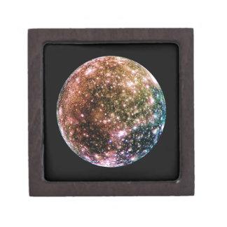 PLANET JUPITER'S MOON - CALLISTO (solar system) ~ Jewelry Box