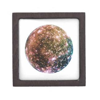 PLANET JUPITER'S MOON - CALLISTO (solar system) ~~ Keepsake Box