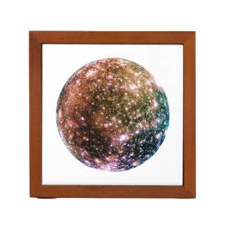 PLANET JUPITER'S MOON - CALLISTO (solar system) ~~ Pencil Holder