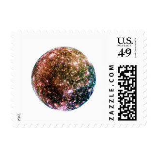 PLANET JUPITER'S MOON - CALLISTO (solar system) ~~ Stamp