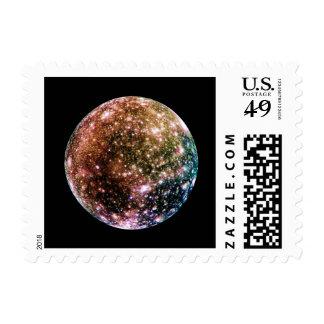 PLANET JUPITER'S MOON - CALLISTO (solar system) ~ Stamp
