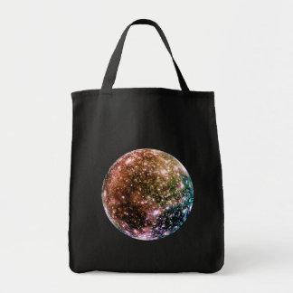 PLANET JUPITER'S MOON - CALLISTO (solar system) ~~ Tote Bag