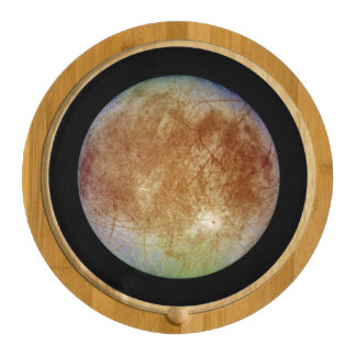 PLANET JUPITER'S MOON EUROPA (solar system) ~ Cheese Board