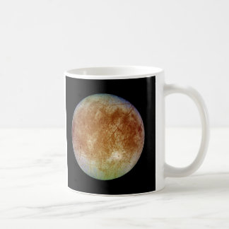 PLANET JUPITER'S MOON EUROPA (solar system) ~ Coffee Mug