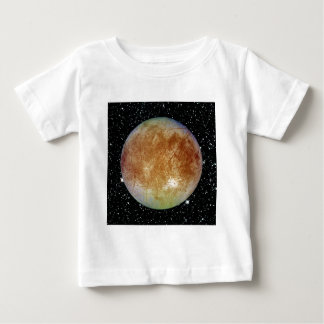 PLANET JUPITER'S MOON EUROPA star background Baby T-Shirt