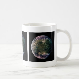 PLANET JUPITER'S MOON GANYMEDE natural v.2 Coffee Mug