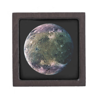 PLANET JUPITER'S MOON GANYMEDE natural v.2 Gift Box