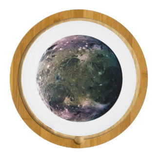 PLANET JUPITER'S MOON GANYMEDE (solar system) ~~ Cheese Platter