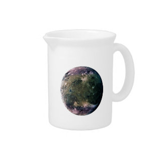 PLANET JUPITER'S MOON GANYMEDE (solar system) ~~.p Beverage Pitchers