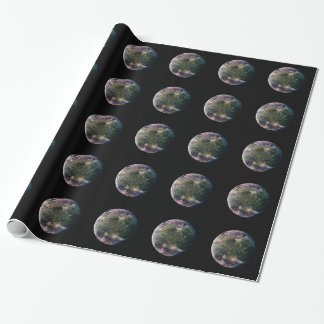 PLANET JUPITER'S MOON GANYMEDE (solar system) ~ Wrapping Paper