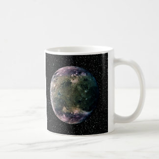 PLANET JUPITER'S MOON GANYMEDE star background ~ Coffee Mug