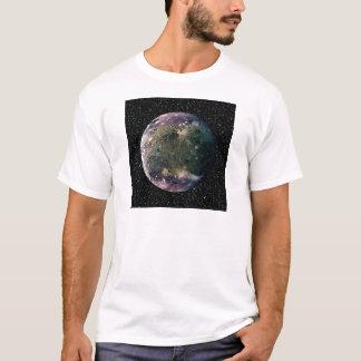 PLANET JUPITER'S MOON GANYMEDE star background ~ T-Shirt