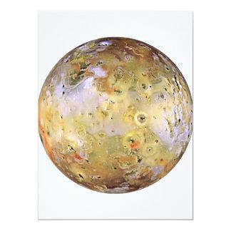 PLANET JUPITER'S MOON IO (solar system) ~ Card