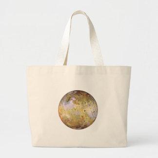 PLANET JUPITER'S MOON IO (solar system) ~~ Large Tote Bag