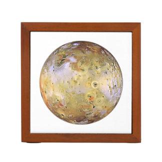 PLANET JUPITER'S MOON IO (solar system) ~~ Pencil/Pen Holder
