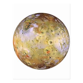 PLANET JUPITER'S MOON IO (solar system) ~ Postcard