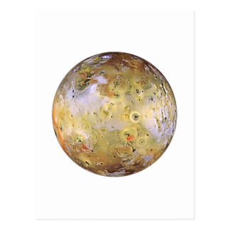 PLANET JUPITER'S MOON IO (solar system) ~~ Postcard