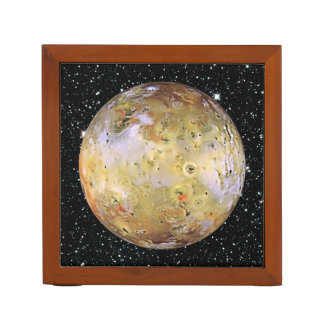 PLANET JUPITER'S MOON IO star background Pencil Holder