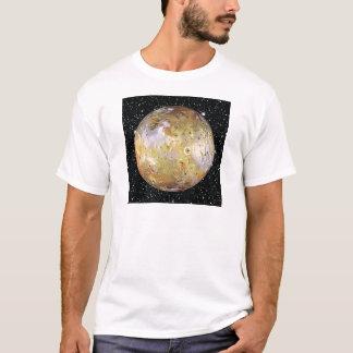 PLANET JUPITER'S MOON IO star background T-Shirt