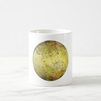 PLANET JUPITER'S MOON IO true color (solar system) Classic White Coffee Mug