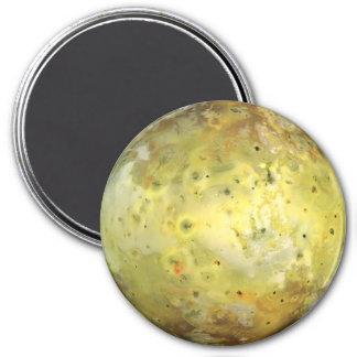 PLANET JUPITER'S MOON IO true color (solar system) Magnet