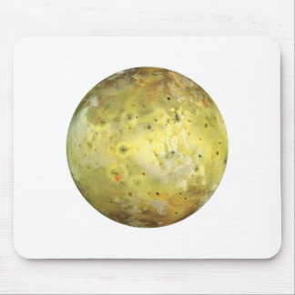 PLANET JUPITER'S MOON IO true color (solar system) Mouse Pad
