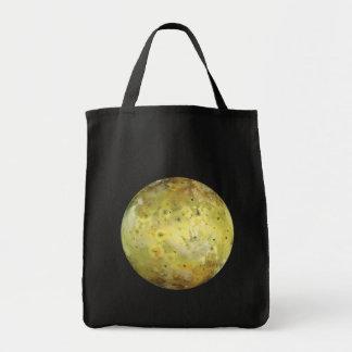 PLANET JUPITER'S MOON IO true color (solar system) Tote Bag