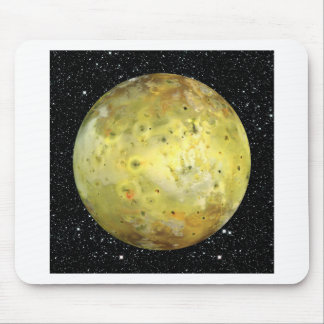 PLANET JUPITER'S MOON IO true color  (space) ~ Mouse Pad