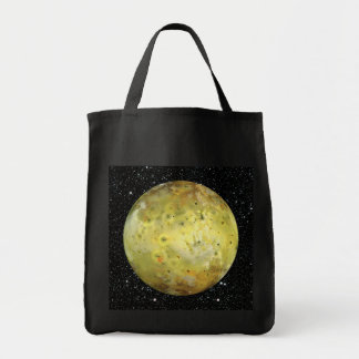 PLANET JUPITER'S MOON IO true color  (space) ~ Tote Bag