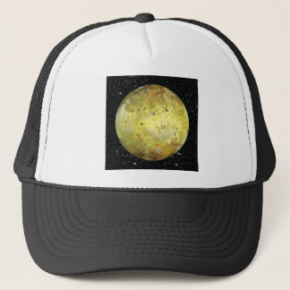 PLANET JUPITER'S MOON IO true color  (space) ~ Trucker Hat