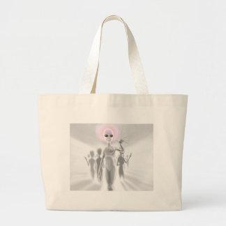 Planet Kromin Large Tote Bag