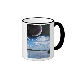 Planet Lake Ringer Mug