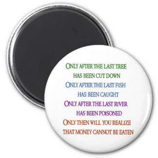 Planet Lament 2 Inch Round Magnet