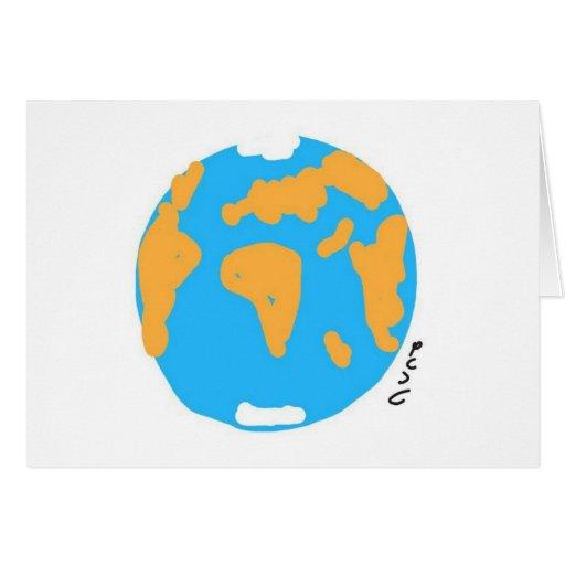 Planet Land Greeting Cards