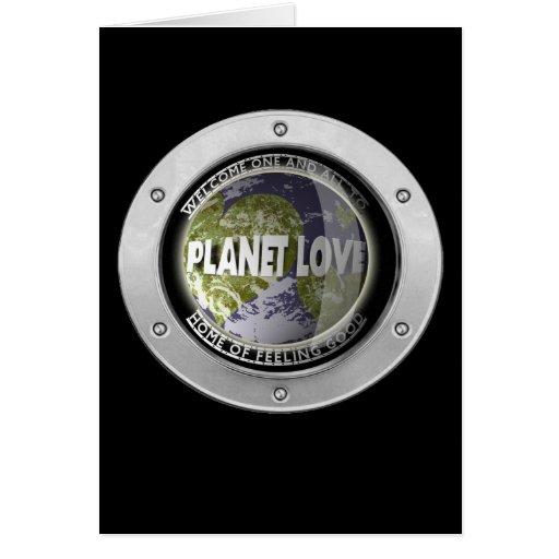 Planet Love Card