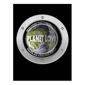 Planet Love Post Card
