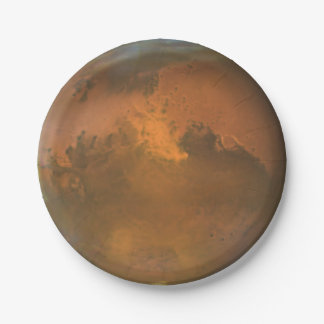 Planet Mars 7 in. Paper Plates