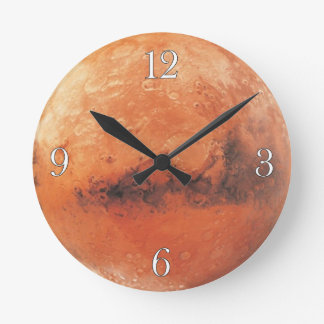 Planet Mars Astronomy-lovers Wall Clock