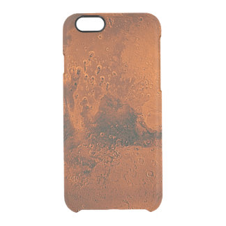 Planet Mars Clear iPhone 6/6S Case