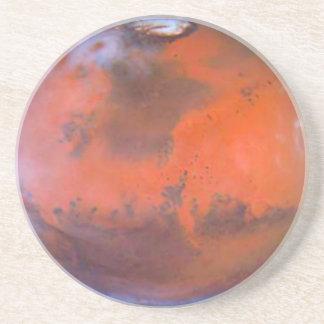 Planet Mars Coaster. Drink Coaster