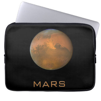 Planet Mars Full Orange View Laptop Sleeve